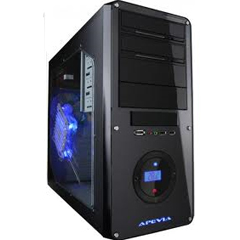 Apevia X-Dreamer3-BK Steel ATX Case - Customized Gaming PC