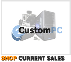 Custom built PCs on sale
